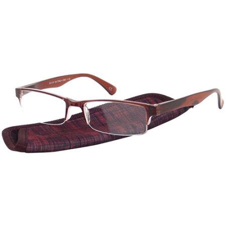 foster grant s plastic reading glasses perry brown