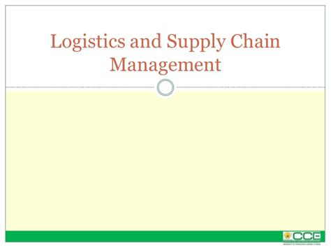 Mba Supply Chain Management Distance Education In Chennai by Distance Mba Logistics And Supply Chain Management