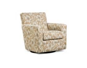 pattern swivel armchair