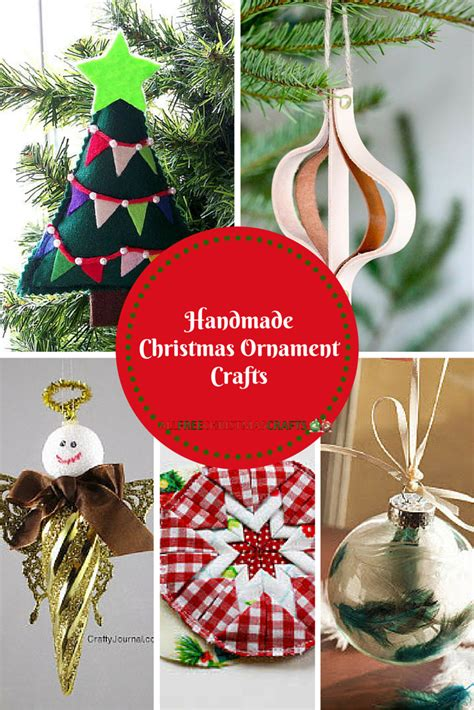 handmade christmas ornament crafts