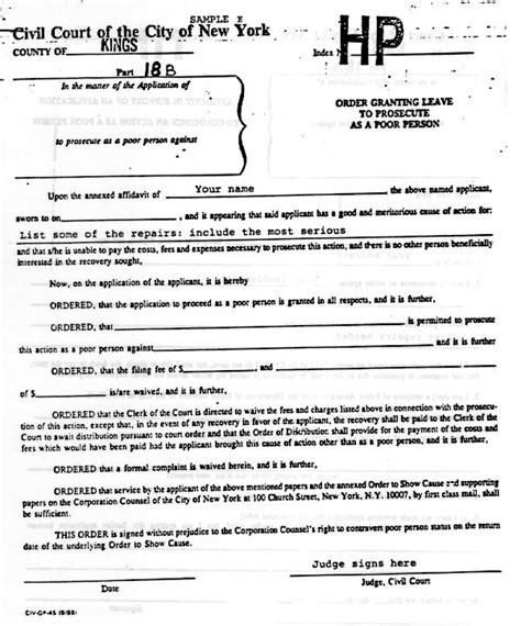 Holdover Rent Letter Tenantnet A Tenant S Guide To Housing Court