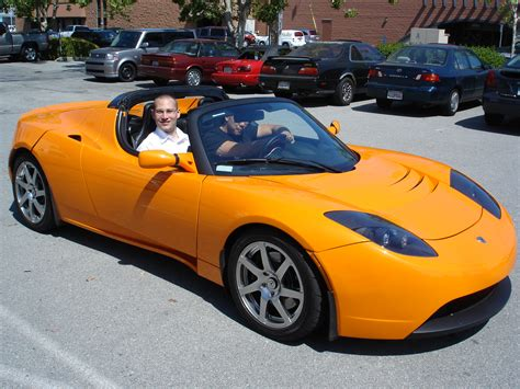 Tesla Roadster Electric Car Tesla Roadster All Electric Car Honaha