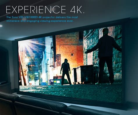 best 4k movies sony 4k home theater experience