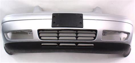 Bumper Sam S4 Silver genuine front bumper cover 99 03 vw jetta mk4 la7w reflex silver carparts4sale inc