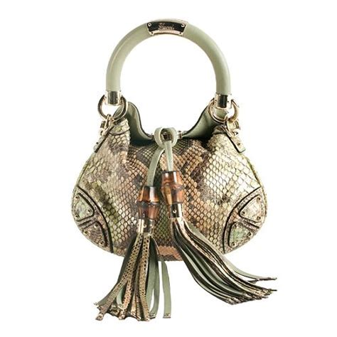 Mini Gucci Indy Bag by Gucci Python Indy Mini Top Handle Handbag