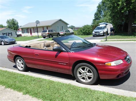 1996 chrysler sebring convertible picture of 1996 chrysler sebring 2 dr jxi convertible