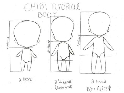 the beginner chibis pdf chibi mini tutorial two by punkalicerose on deviantart