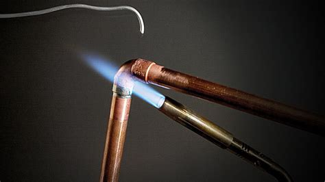 Plumbing Soldering by How To Sweat Copper Pipe Sweating Copper Pipe Joints