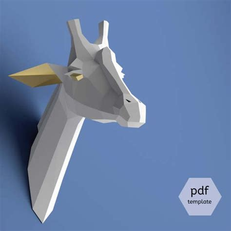 papercraft pdf 28 images unicorn papercraft 3d