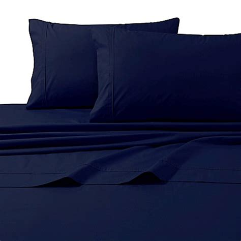 egyptian cotton sheets bed bath and beyond buy 300 thread count premium cotton percale king sheet set