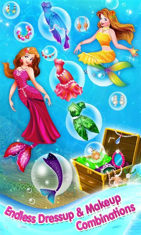 Mascara Duyung mermaid princess makeover android apps on play