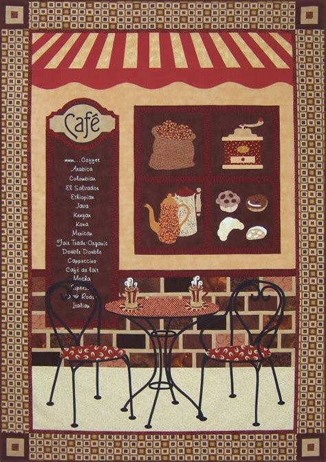 Coffee Quilt Pattern by Coffee Caf 233 Quilt Pattern
