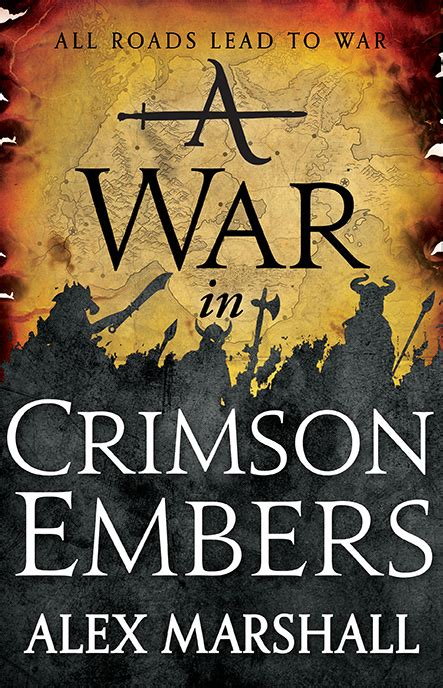 cover reveal a war in crimson embers by alex marshall