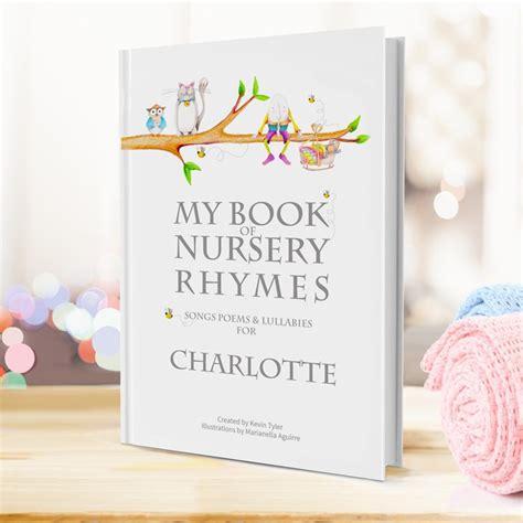 personalised picture book personalised my book of nursery rhymes gettingpersonal co uk