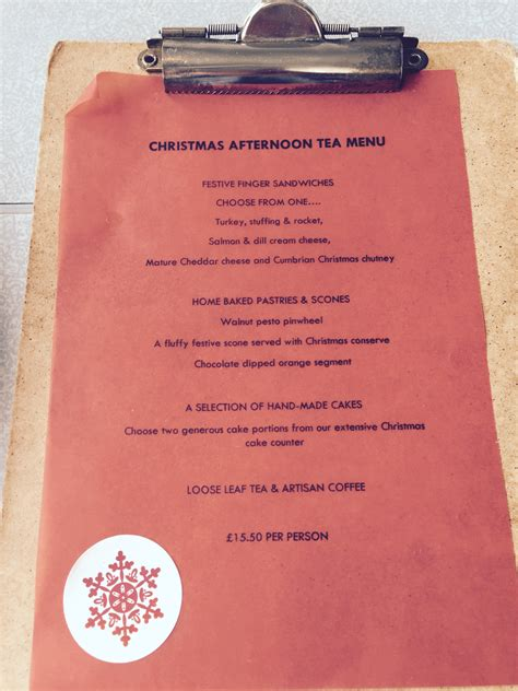 christmas tea menu and the dish ran away with the spoon for afternoon tea becci s