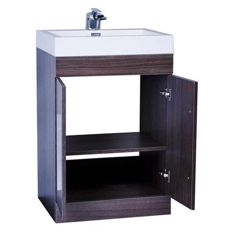 Bathroom Cabinets And Vanities 24 Quot Bathroom Vanity Set Grey Oak Tn Tm600 Go On Conceptbaths