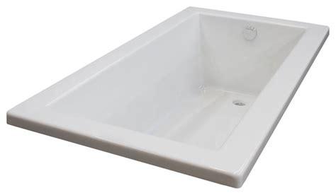 drop in bathtub 60 x 30 bronzino 30 x 60 rectangular soaking drop in bathtub tub