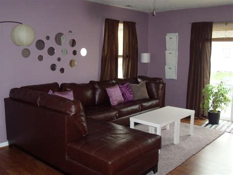 purple and brown living room ikea brown purple retro living room home pinterest