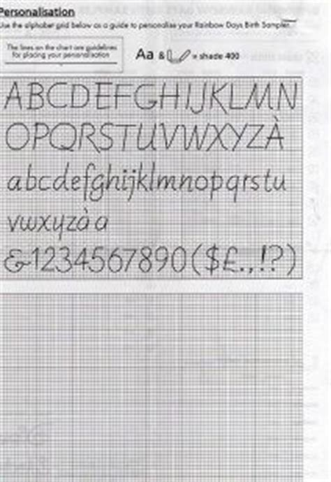 Winnie The Pooh Cross Stitch Birth Record 76 Best Counted Cross Stitch Alphabet Images On