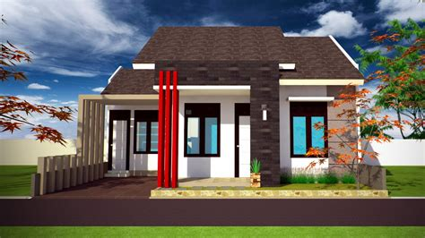 desain rumah tak depan 15 desain rumah minimalis tak depan