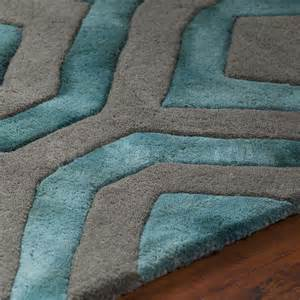 Grey And Teal Area Rug Rugs Fran Tufted Area Rug Teal Grey Fra 42101 1 Ba Stores