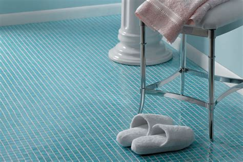 blue tile bathroom floor bathroom flooring bathroom flooring options houselogic