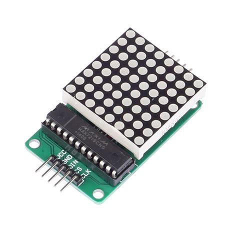 Led Dot Matrix stak max7219 dip dot matrix module 8 8 led display