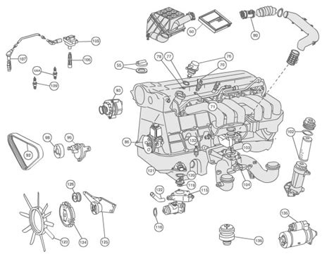 1999 mercedes engine diagram 1999 free engine image for