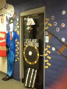 Christmas Decorating Ideas For Office Contest 17 Best Images About Door Decorations On Pinterest Polar