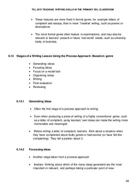 Complaint Letter Lesson Plan writing a letter of complaint lesson plan