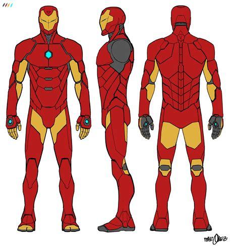 marvel unveils invincible iron man designs ai
