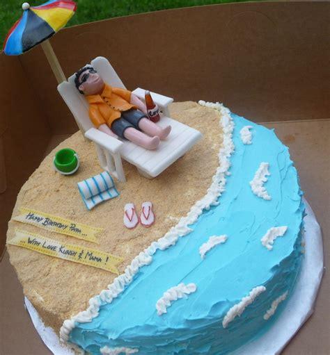 themed birthday cake recipes beach themed cake beach themed cakes themed cakes and