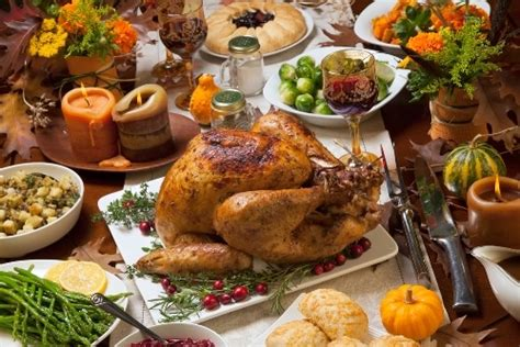 Traditional Thanksgiving Menu 2018