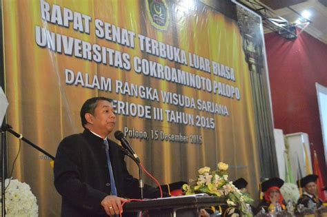 Uncp Mba by Universitas Cokroaminoto Palopo Berita