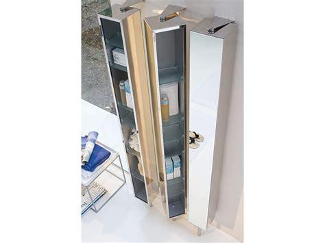 spiegelschrank 25 cm tief spiegelschrank drehschrank edelstahl breit 25 cm pika