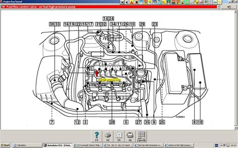 where is the high pressure fuel located on a zafira 06