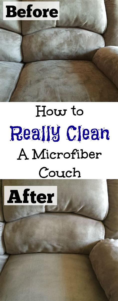 How Can I Clean Microfiber by 1000 Ideas About Cleaning On Sofa