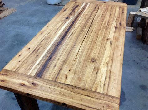 lumber for table top recycled hickory barn wood table top reclaimed wood