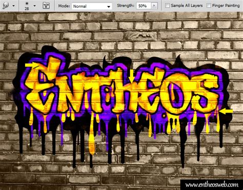 photoshop cs5 graffiti text tutorial create a cool graffiti text in photoshop entheos