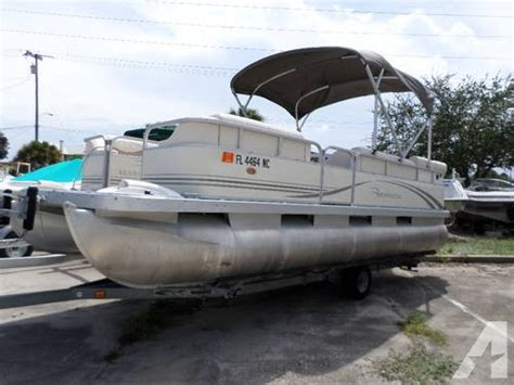 used pontoon boat trailers in florida 20 2006 bennington pontoon w magic tilt trailer for sale