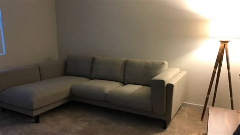 ikea nockeby sofa assembly