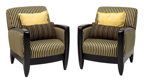 striped armchairs 2 contemporary striped armchairs by layzboy exciting