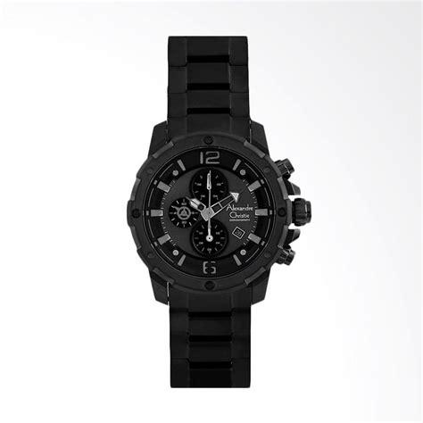 Jam Tangan Swiss Army Tali Kulit Hitam Blue daftar harga jam tangan alexandre christie kulit