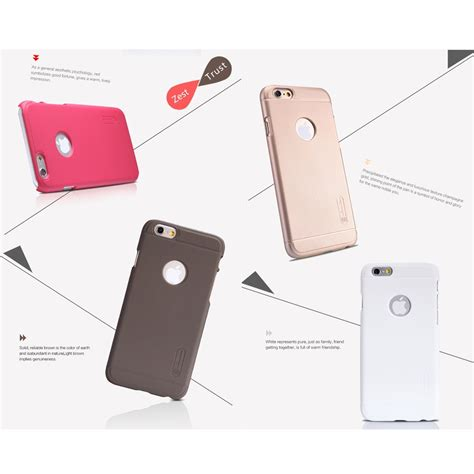 Hardcase Nillkin Frosted Shield For Iphone 6g6s nillkin frosted shield for apple iphone 6