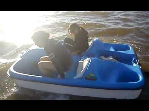 pelican 2 person paddle boat mari amanda on a pelican monaco peddle boat youtube