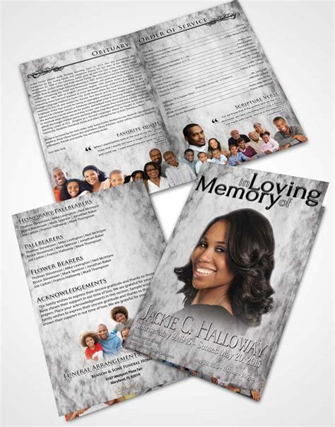 funeral obituary template funeralparlour funeral program template obituary