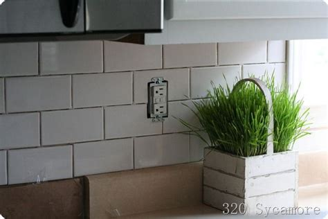 how to install a subway tile backsplash kitchen design