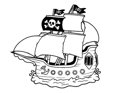 barco pirata kidd dibujo de barco pirata pintado por en dibujos net el d 237 a