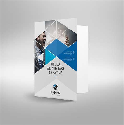 corporate folder template mars modern corporate presentation folder template 001220