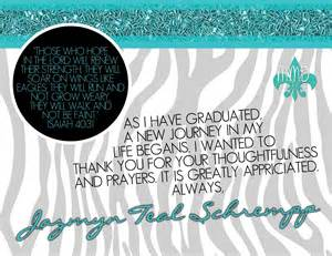 custom graduation announcement and thank you card merely designs